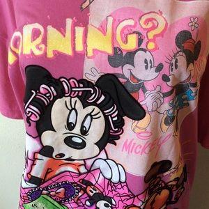 Disney Intimates & Sleepwear - New Minnie Mouse Pajama Tee Sleep dress shirt